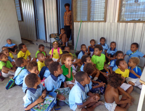 Operation Food for Life providing breakfast for school children in Papua New Guinea